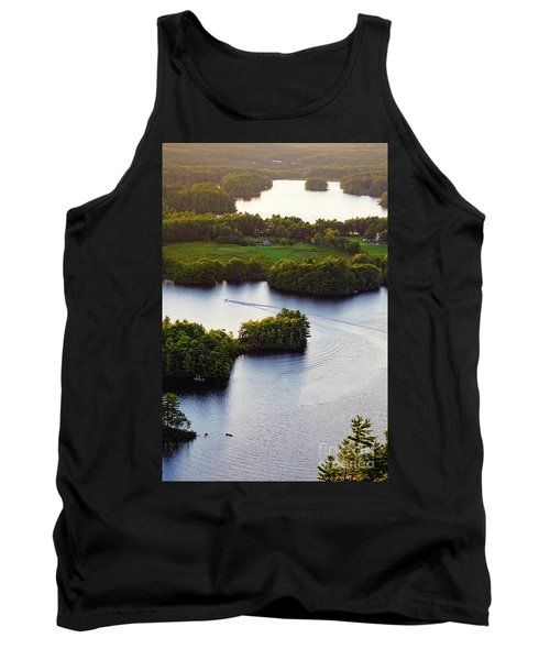 Late Afternoon On Lake Megunticook, Camden, Maine -43988 Tank Top