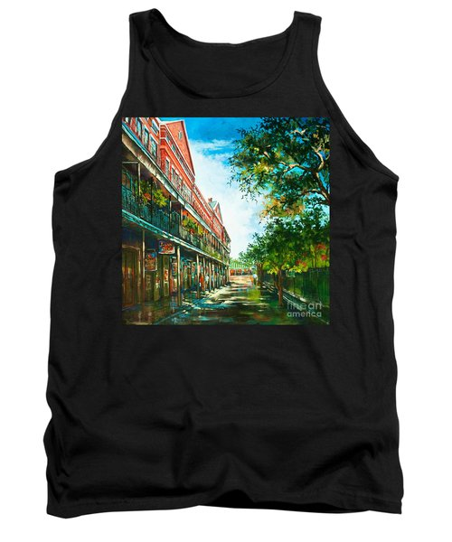 Late Afternoon On The Square Tank Top