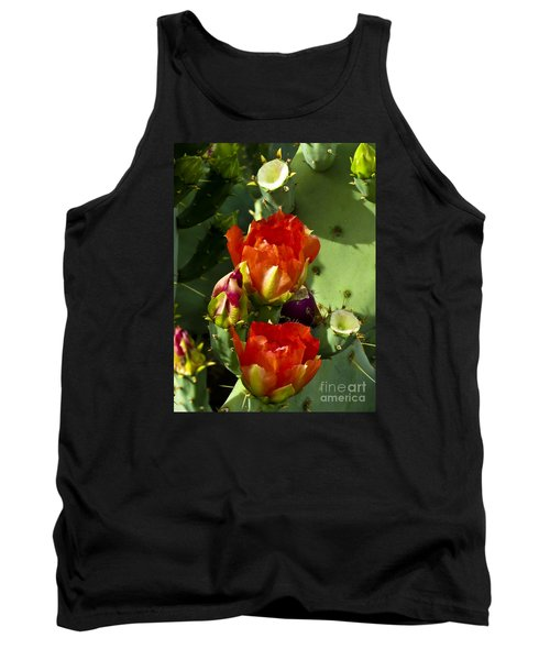 Late Bloomer Tank Top by Kathy McClure