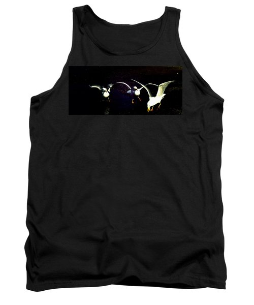 Tank Top featuring the photograph Late Night Snack by Mike Breau