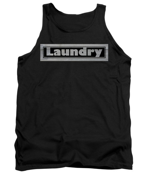 Laundry On Metal Tank Top