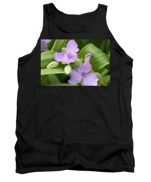 Lavender Blooms In Spring Tank Top