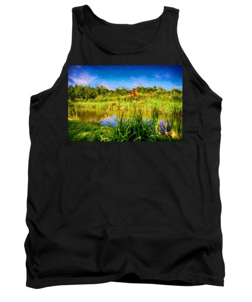 Lazy Summer Tank Top by Tricia Marchlik
