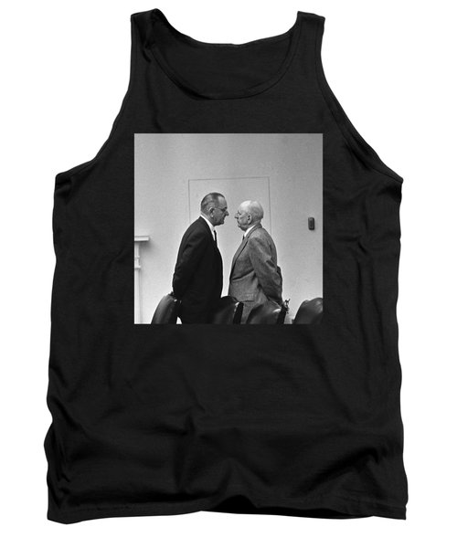 Lbj Giving The Treatment Tank Top