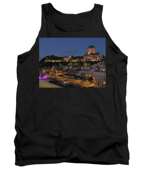 Le Chateau Frontenac  Tank Top