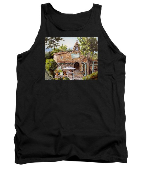 Le Petite Chapelle Tank Top by Alan Lakin