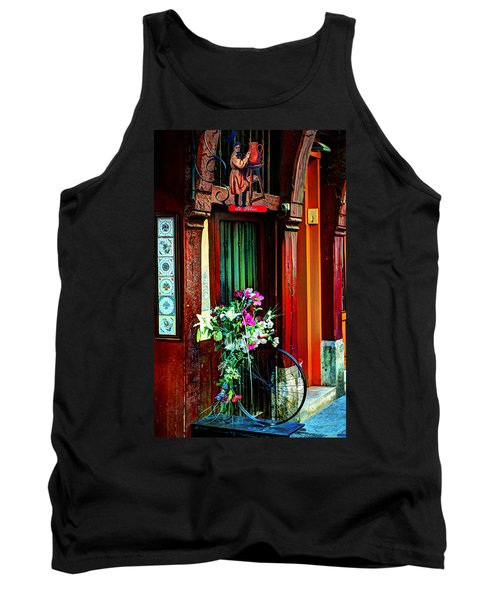 Tank Top featuring the photograph Le Potier Rouen France by Tom Prendergast