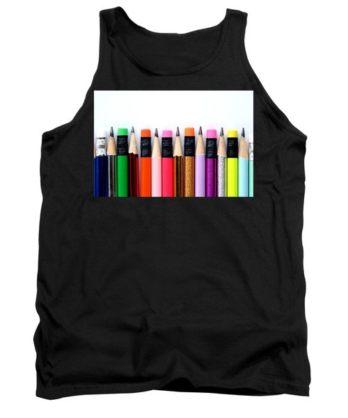 Leads And Erasers Tank Top