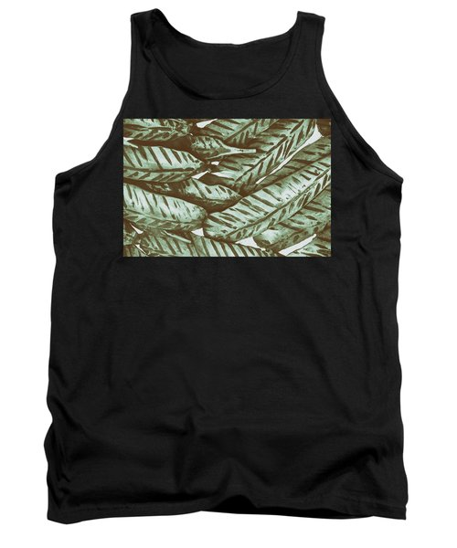 Leaves No. 3-1 Tank Top