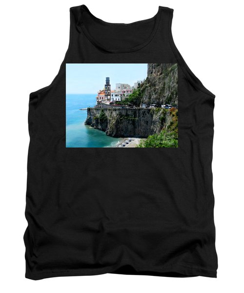 Leaving Atrani  Italy Tank Top by Jennie Breeze