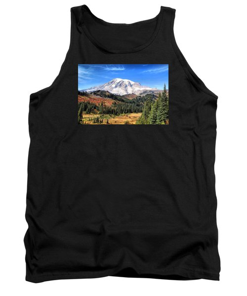 Tank Top featuring the photograph Leaving Paradise by Lynn Hopwood