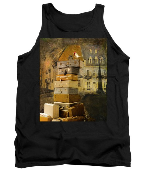 Leaving Quebec Tank Top by Jeff Burgess