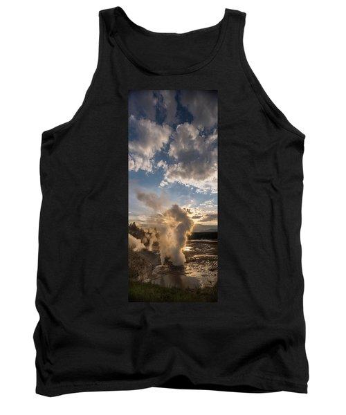 Ledge Geyser Yellowstone N P Tank Top