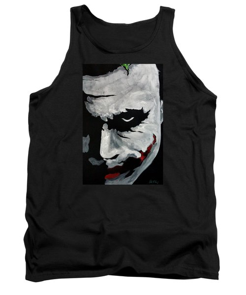Ledger's Joker Tank Top