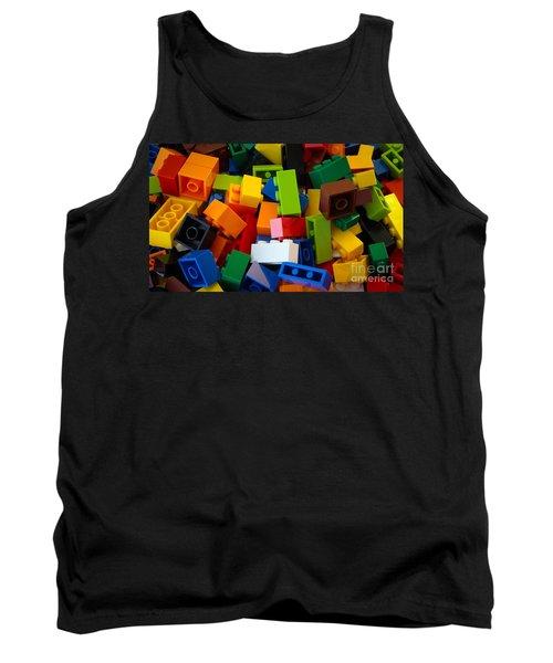 Lego Bricks Tank Top by David Warrington