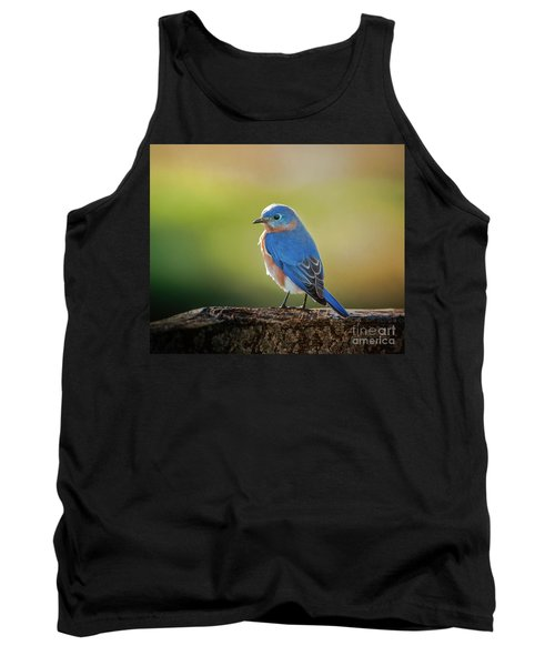 Lenore's Bluebird Tank Top by Robert Frederick