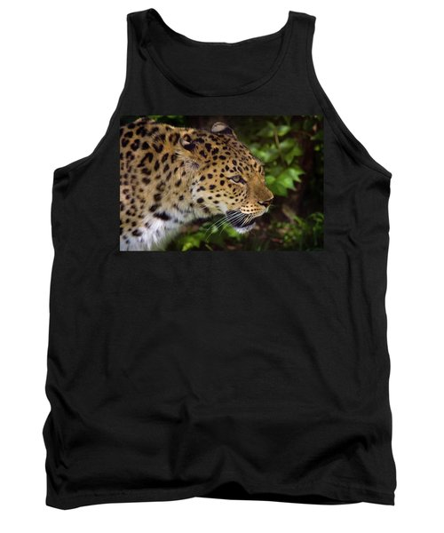 Tank Top featuring the photograph Leopard by Steve Stuller