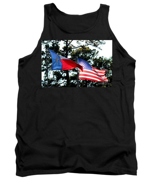 Tank Top featuring the photograph Let Freedom Ring by Kathy  White