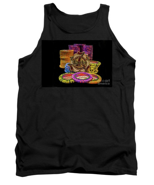 Lets Play Poker Tank Top