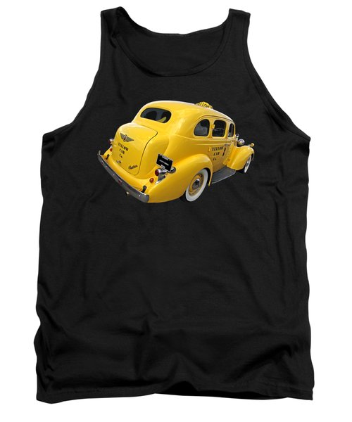 Let's Ride - Studebaker Yellow Cab Tank Top
