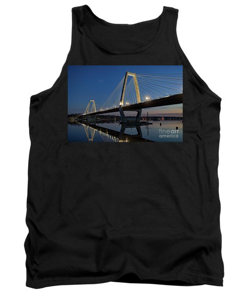 Tank Top featuring the photograph Lewis And Clark Bridge - D009999 by Daniel Dempster