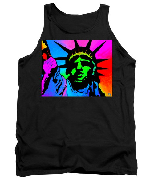 Liberty Of Colors - Saturated Tank Top by Jeremy Aiyadurai