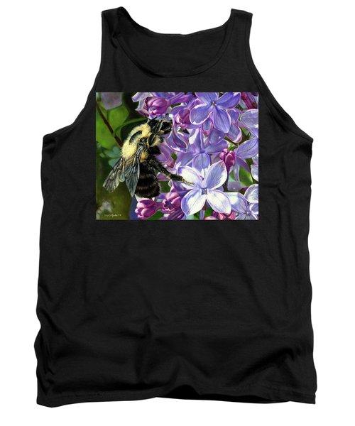 Life Among The Lilacs Tank Top