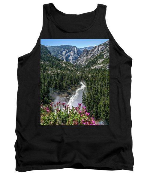 Life Line Of The Valley Tank Top by Ryan Weddle