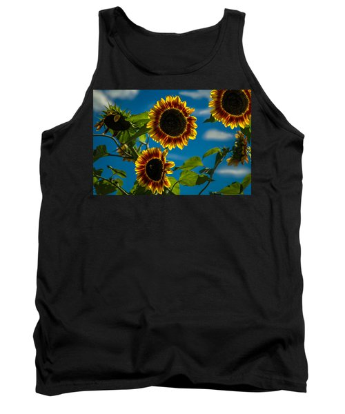 Tank Top featuring the photograph Life Of A Bumble Bee by Jason Moynihan