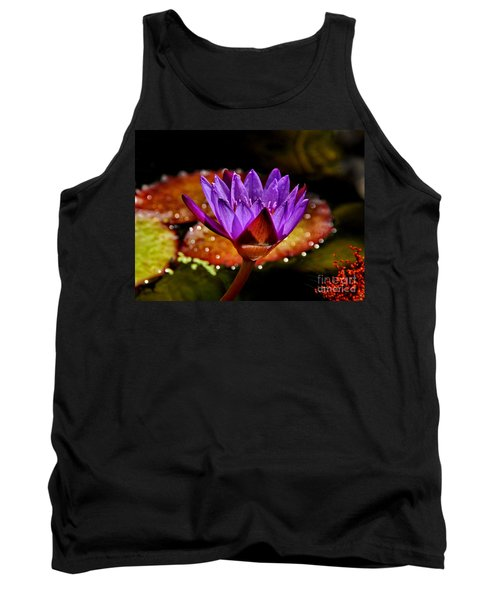 Tank Top featuring the photograph Life On The Pond 2 by Andrea Kollo