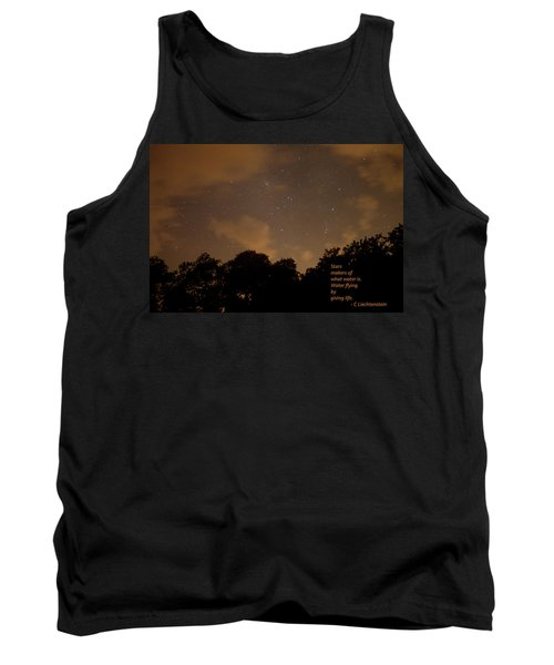 Life, Water And Stars Tank Top