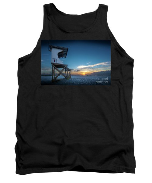 Lifeguard Tank Top by Brian Jones