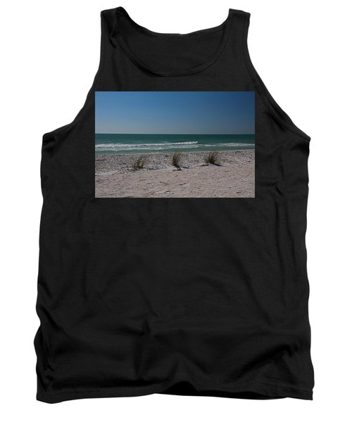 Life's A Beach Tank Top by Michiale Schneider