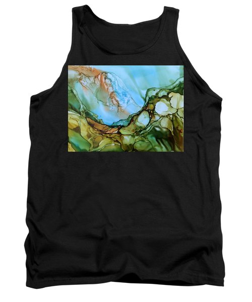 Tank Top featuring the painting Light My Fire by Pat Purdy