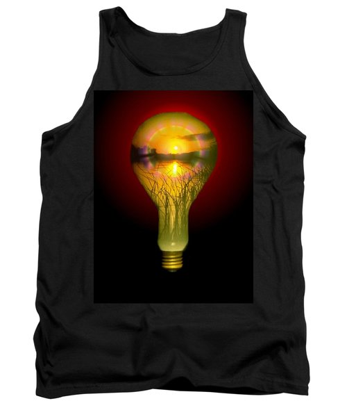 Lighthearted Sunset Tank Top