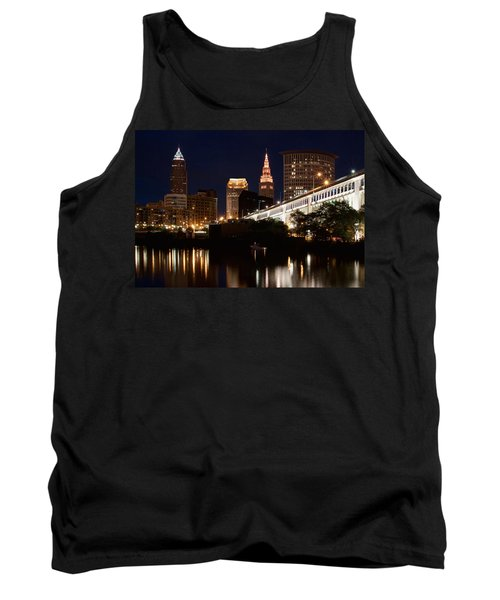 Lights In Cleveland Ohio Tank Top