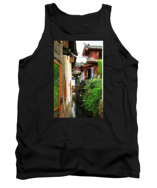 Lijiang Back Canal Tank Top by Carla Parris