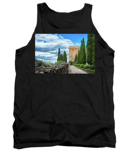 Like A Fortress In The Sky Tank Top