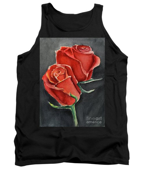 Like A Rose Tank Top