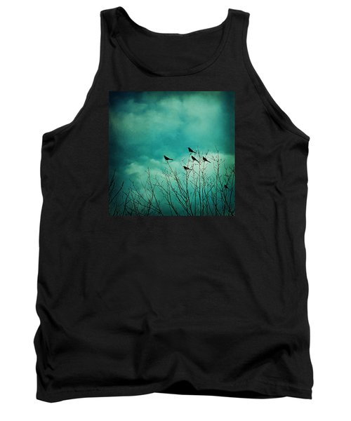 Tank Top featuring the photograph Like Birds On Trees by Trish Mistric