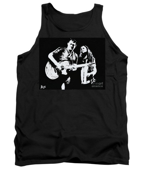 Like Johnny And June Tank Top by Alys Caviness-Gober