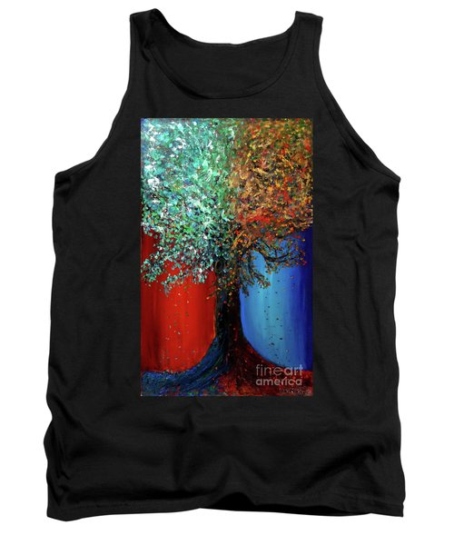 Like The Changes Of The Seasons Tank Top by Ania M Milo