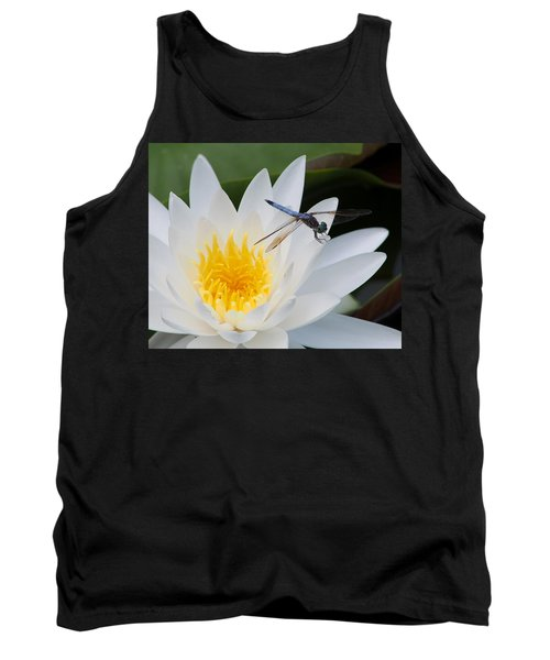 Lily And Dragonfly Tank Top