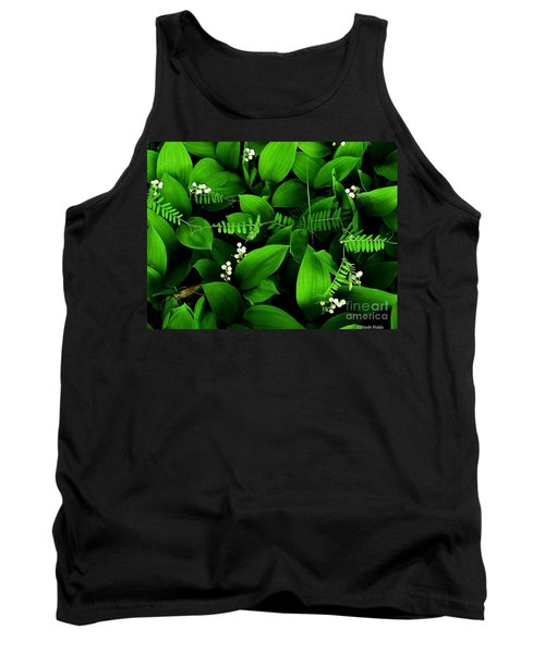 Lily Of The Valley Tank Top by Elfriede Fulda