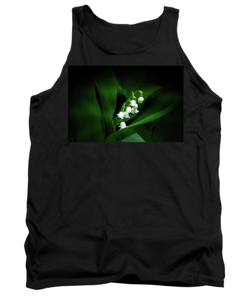 Lily Of The Valley Tank Top by Judy Johnson