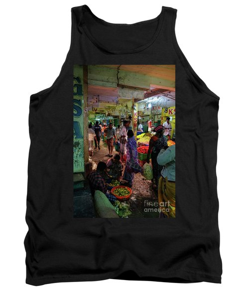 Tank Top featuring the photograph Limes For Sale by Mike Reid