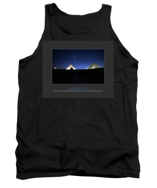 Tank Top featuring the photograph Limitations Create Opportunities For Improvement by Donna Corless