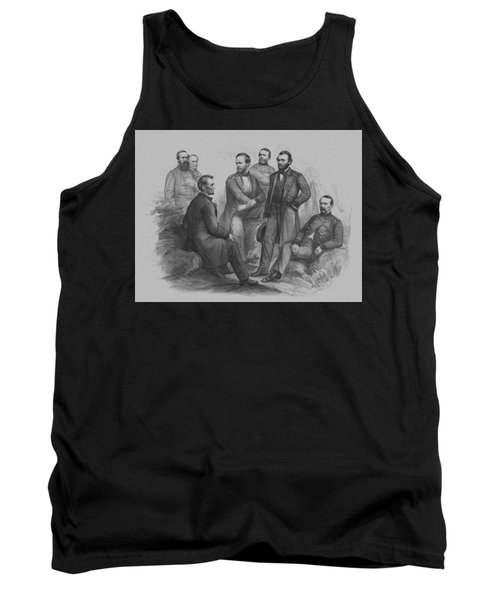 Lincoln And His Generals Tank Top