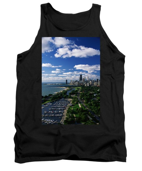 Lincoln Park And Diversey Harbor Tank Top