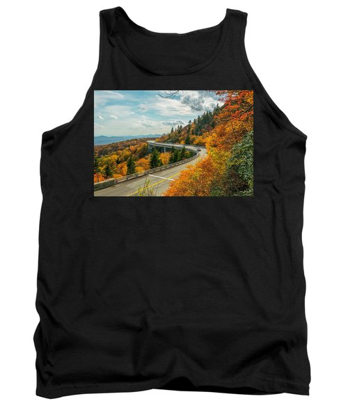 Linn Cove Viaduct Tank Top